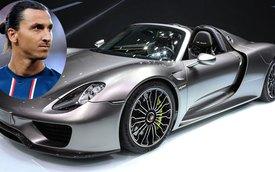 Sao bóng đá Zlatan Ibrahimovic tậu siêu xe Porsche 918 Spyder