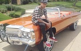 Rapper mang dòng máu Việt chán siêu xe, chuyển sang xế độ