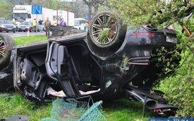 Chiếc Porsche Macan đầu tiên trên thế giới bị tai nạn