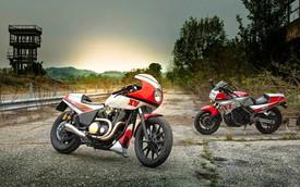 XV950 Pure Sports: Mang huyền thoại Yamaha FZ750 trở về