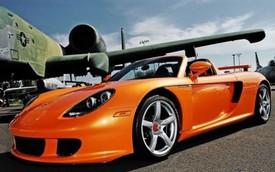 """Siêu xe """"nguy hiểm"""" Porsche Carrera GT sơn màu Lamborghini có giá """"chát"""""""