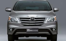 Toyota Innova hoàn toàn mới sẽ sử dụng khung gầm liền khối