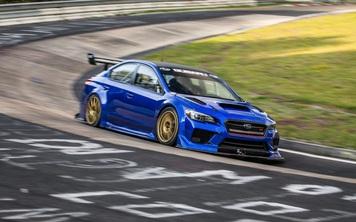 Subaru WRX STI phá kỷ lục tại trường đua danh tiếng Nurburgring