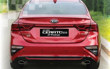 Kia Cerato nâng cấp một số chi tiết, khách Việt tiết kiệm hàng triệu đồng tiền độ bên ngoài