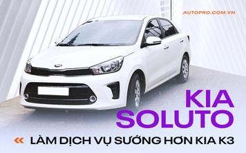 Bán Kia K3 xuống đời Soluto chạy dịch vụ, người dùng nhận xét: 'Êm, bền, tiết kiệm nhưng phải hy sinh tiện nghi'