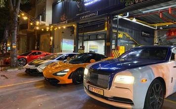 Cường 'Đô-la', trưởng đoàn Car Passion cùng giới đại gia Sài Gòn mang dàn siêu xe hơn 50 tỷ đi bão sau chiến thắng lịch sử của U22 Việt Nam tại SEA Games 30