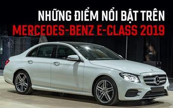 10 điểm mới không thể bỏ qua trên Mercedes-Benz E-Class 2019 vừa ra mắt Việt Nam