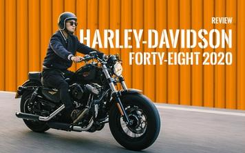 Đánh giá Harley 48 giá nửa tỷ đồng: Dễ hiểu vì sao chủ xe quay ngoắt với Triumph Bonneville T120 trước đó và hài lòng với chiếc xe này