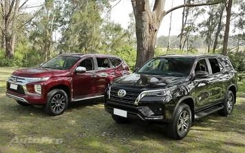 Chọn Mitsubishi Pajero Sport tiêu chuẩn hay Toyota Fortuner Legender giá hơn 1,1 tỷ đồng