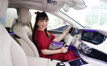 Đi xem E-Class nhưng 'lỡ nghiện', Hòa Minzy sắm hẳn Mercedes-Benz S 450 L Luxury giá gần 5 tỷ đồng