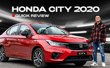 Đánh giá nhanh Honda City 2020 giá 599 triệu đồng: Những điều hợp lý khiến Accent phải giật mình