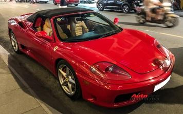 Ferrari 360 Spider từng của ông Đặng Lê Nguyên Vũ bất ngờ xuất hiện lại tại Sài Gòn
