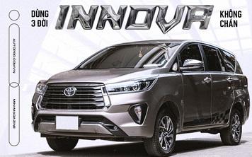 Dùng 3 đời Toyota Innova làm dịch vụ, 'bào' đến 700.000 km, người dùng đánh giá: 'Chạy lâu, xa, chở nhiều người mới thấy giá trị'