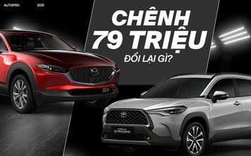 Chênh nhau một chiếc Honda SH, chọn Mazda CX-30 2.0 Premium hay Toyota Corolla Cross 1.8V
