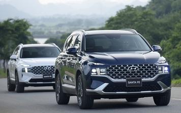 Tăng 35-95 triệu đồng, Hyundai Santa Fe 2021 'lột xác' thế nào so với phiên bản cũ?