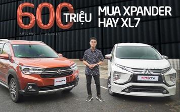 Đây là lý do tầm 600 triệu, nhiều người Việt vẫn mua Xpander hơn XL7