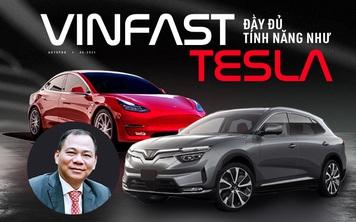'Xe điện VinFast đủ tính năng như Tesla', vậy ô tô điện Tesla hiện đại đến mức nào?