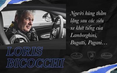 Loris Bicocchi: Từ bỏ học, làm thủ kho tới chuyên gia lái thử các siêu xe khét tiếng nhất thế giới
