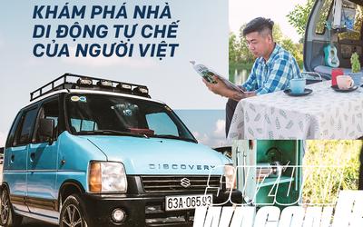 Gặp người mua Suzuki Wagon R giá 90 triệu đồng độ thành nhà di động: 'Việt Nam đẹp lắm, đi tới đâu mà ở khách sạn thì phí'