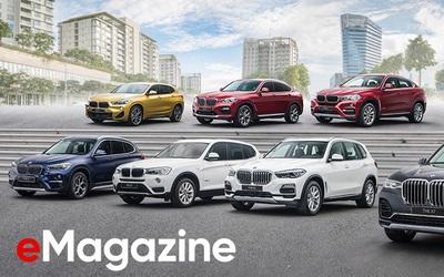 Gia đình X - Dàn xe cực chất của BMW cho người Việt đam mê cảm giác lái thể thao