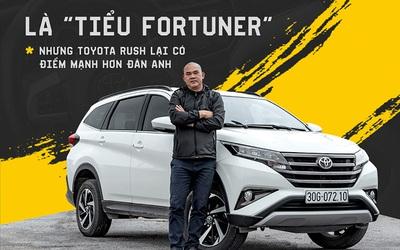 Người dùng đánh giá Toyota Rush sau nửa năm sử dụng: Ngược dòng số đông nhưng đầy bất ngờ