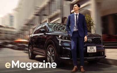 Kia Sorento thế hệ mới - SUV xứng tầm đẳng cấp cho doanh nhân trẻ thành đạt