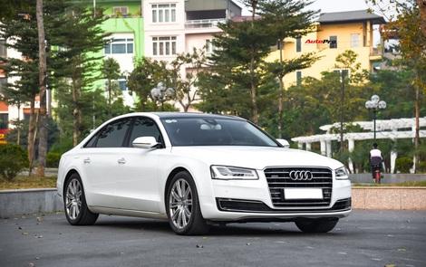 Audi A8L xuống giá còn hơn 2,7 tỷ đồng sau hơn 53.000 km - lựa chọn cho đại gia chán Mercedes-Benz S-Class và BMW 7-Series