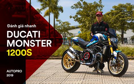 Đánh giá nhanh Ducati Monster 1200S tiền tỷ sau 4 năm sử dụng: Chạy như mới nhưng tiền độ và tiền nuôi xe gây bất ngờ