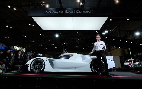 Toyota hé lộ siêu xe mới, đủ sức so tài với Aston Martin Valkyrie