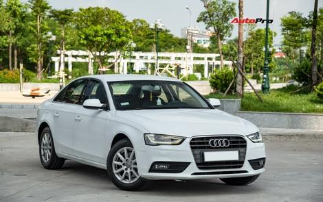 Cảm nhận nhanh Audi A4 giá hơn 800 triệu: Còn lại gì sau 60.000 km?