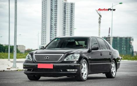 Lexus LS430 13 năm tuổi: Thừa sang trọng dù giá chỉ 650 triệu đồng