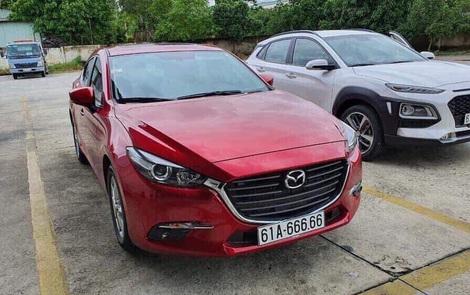 9x Bình Dương với 'bàn tay vàng' bốc biển 6 số 6 cho Mazda3