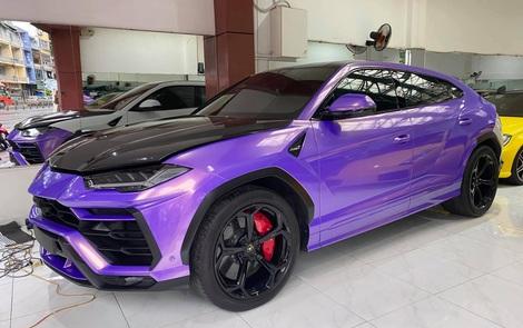 Lamborghini Urus từng thuộc sở hữu của Minh 'nhựa' lột xác với màu cực độc