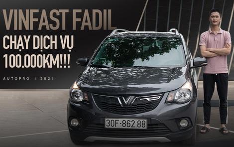 Nam sinh 98 Hà Nội mua VinFast Fadil chạy dịch vụ hơn 100.000km đánh giá: Đi sướng hơn Vios, i10 nhưng còn nhược điểm khi chở khách