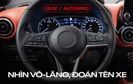 [Quiz] Bạn có nhận ra 10 thiết kế vô-lăng sau thuộc những mẫu xe nào?