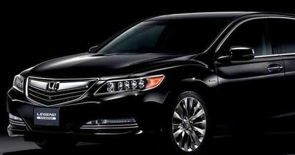 Honda Legend 2016 - Xe sang chỉ tiêu tốn 5,9 lít xăng cho 100 km