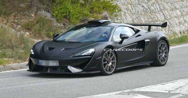 Lộ thêm ảnh không che chắn của siêu xe McLaren 620R hoàn toàn mới: Đẹp miễn chê