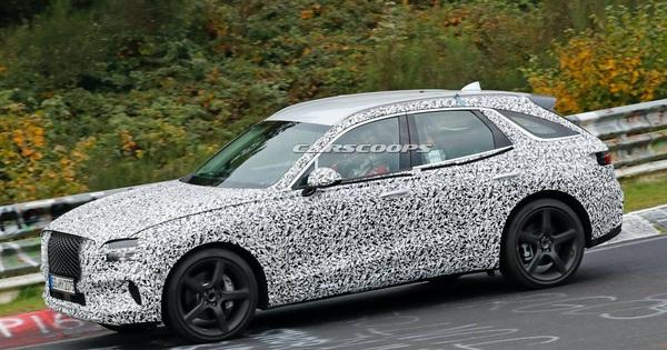 Genesis GV70 lần đầu lộ ảnh chạy thử – xe Hàn tham vọng đối đầu Mercedes GLC và BMW X3