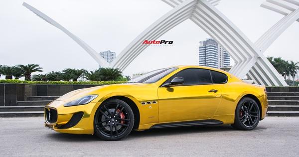 """Chưa ra biển số, Maserati GranTurismo """"siêu lướt"""" chào khách Việt với giá rẻ hơn 2,5 tỷ đồng so với mua mới"""