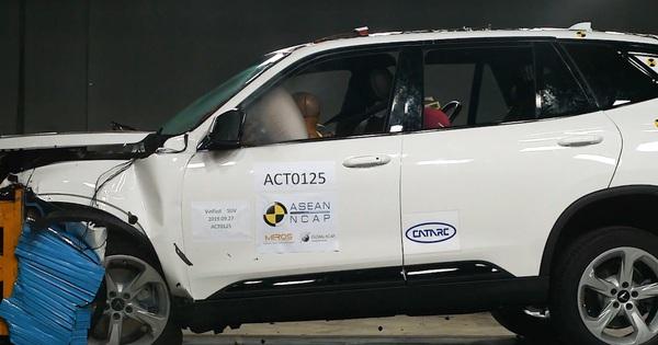 Hé lộ video thử nghiệm đâm va VinFast Lux và Fadil bởi ASEAN NCAP sau những màn tra tấn tại Hàn Quốc và châu Âu