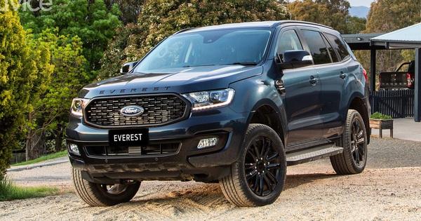 Ford Everst Sport 2020 ra mắt, tăng tốc đối đầu Toyota Fortuner