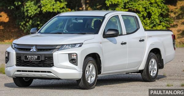 """Mitsubishi Triton ra mắt bản gầm thấp """"bán tải lai sedan"""" với mức giá siêu rẻ"""