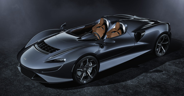 Ra mắt McLaren Elva – Siêu xe không cần kính chắn gió, nhẹ nhất lịch sử McLaren