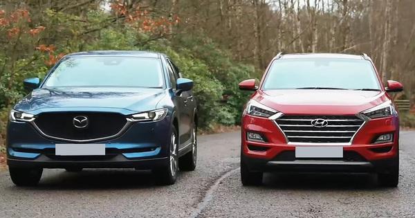 Thua Honda CR-V, giờ Mazda CX-5 còn bị Hyundai Tucson đe doạ vị trí số 2