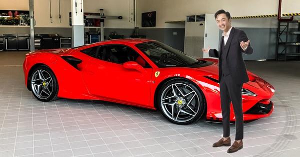 """Doanh nhân Nguyễn Quốc Cường """"tậu"""" siêu xe Ferrari F8 Tributo?"""