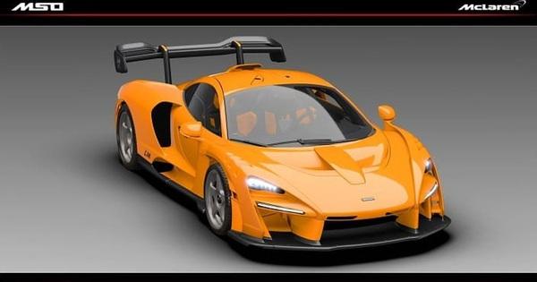 McLaren Senna lộ hàng phiên bản đặc biệt mới: Bên trong còn ấn tượng hơn
