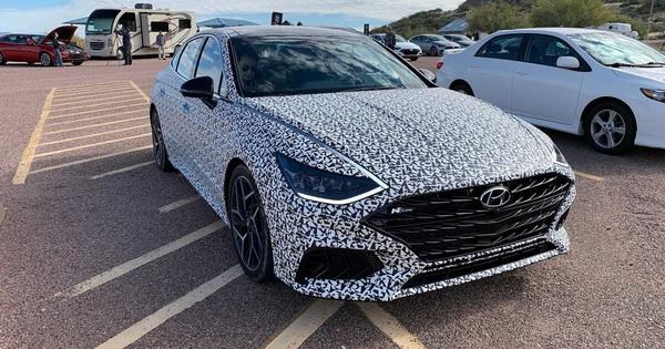 Hyundai Sonata sẵn sàng bản thể thao đấu Toyota Camry TRD