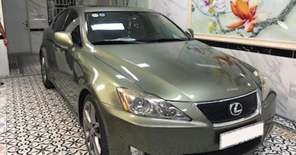 Giữ xe như mới sau 10 năm, đại gia bán Lexus IS 250 với giá chỉ hơn 600 triệu đồng