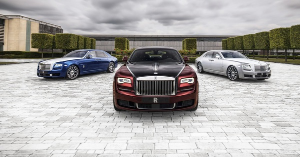 Rolls-Royce Ghost Zenith Collection: Chia tay một biểu tượng