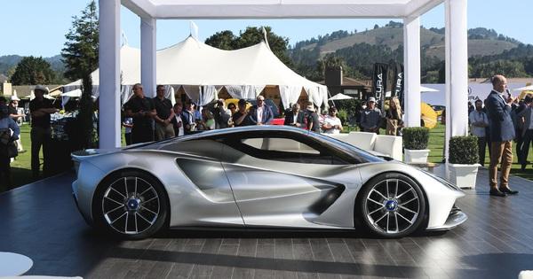 Ra mắt siêu xe 2.000 mã lực cạnh tranh siêu phẩm Bugatti Centodieci
